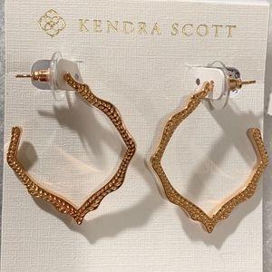 NEW Kendra Scott Miku Rose Gold Earrings
